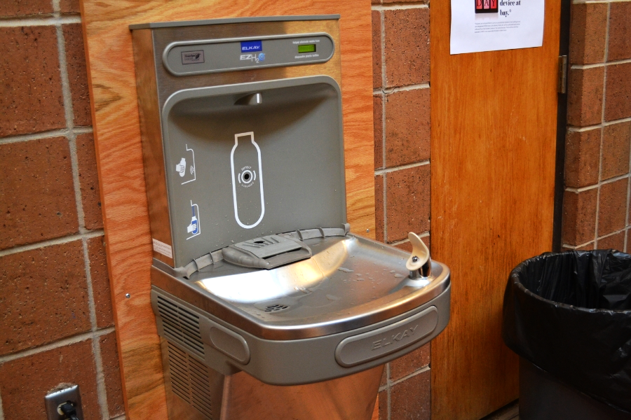 The Water Bottle Refill Station