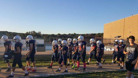 Canyon Vista Football Game vs Walsh
