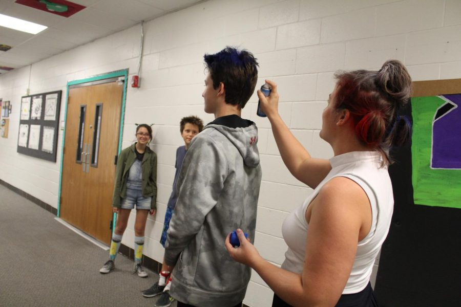 Crazy Hair and Sock Day Pictures!