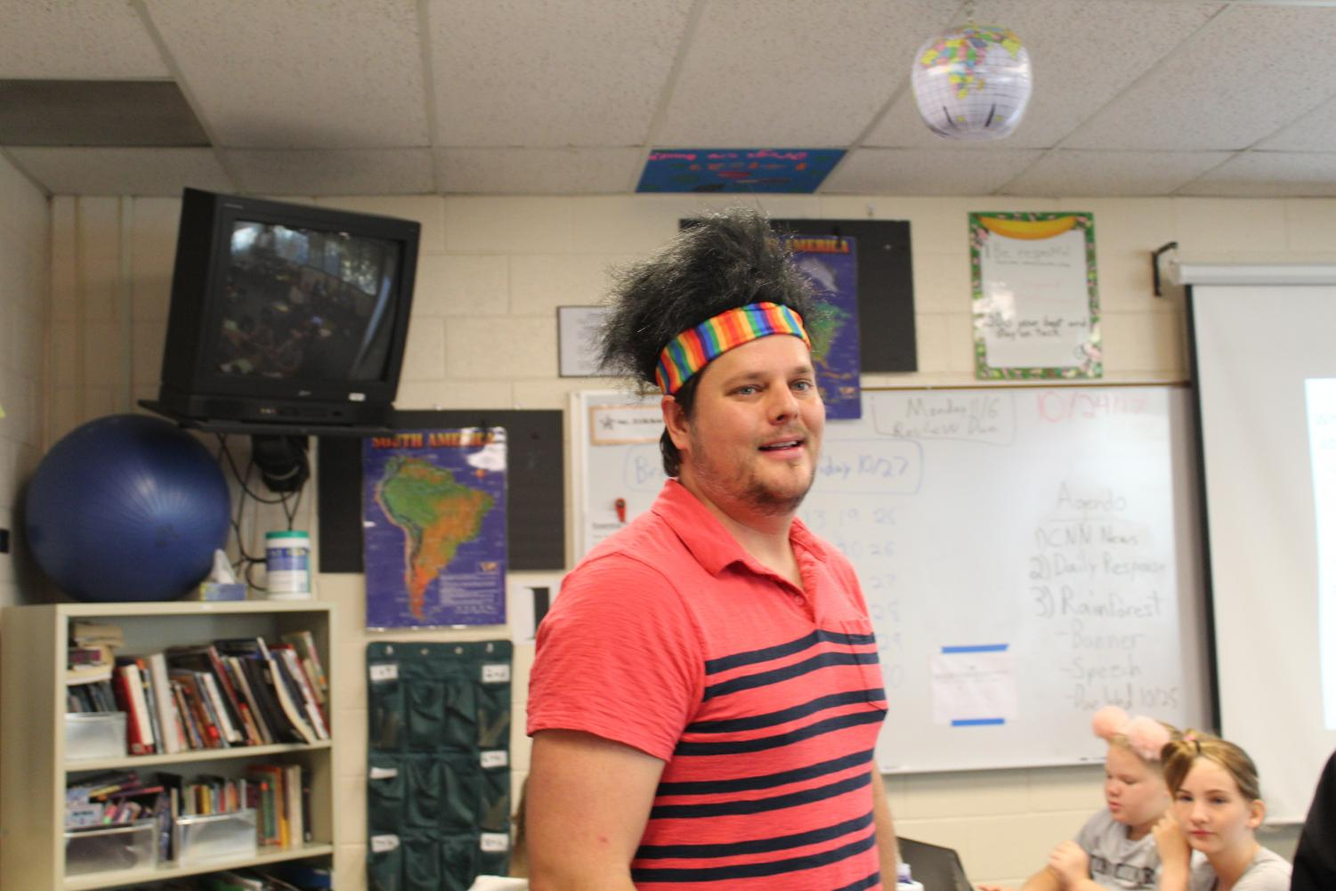 Mr. Erickson is Impressing People With His Crazy Hair!
