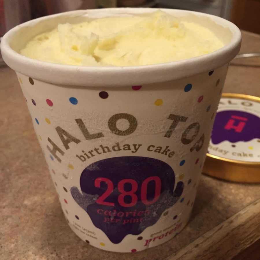 Halo Top Birthday Cake Ice Cream Canyon Echoes