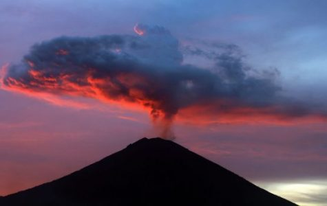 Eruptions of Mount Agung