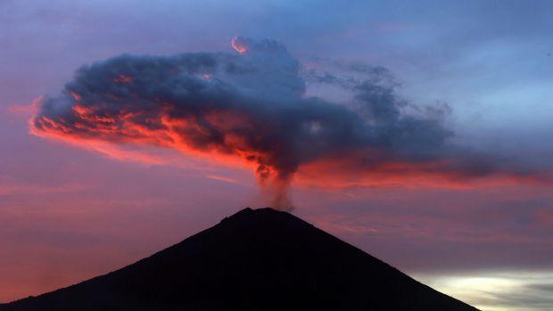 Eruptions of Mount Agung
