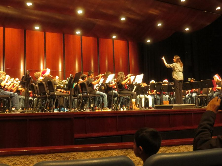 Band Performance at the PAC