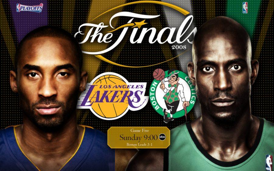 NBA-Celtics+vs.+Lakers+Rivalry