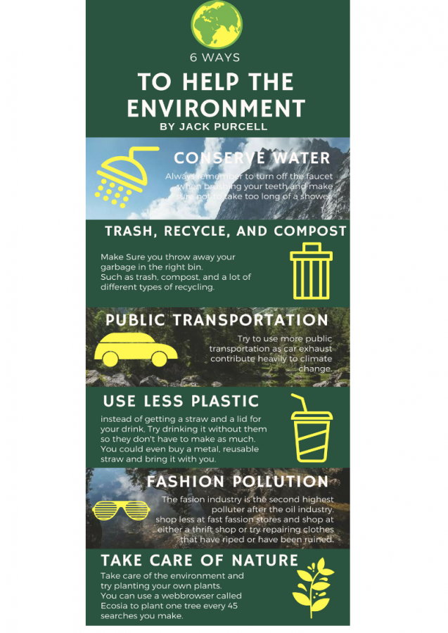 Six Ways to Help the Environment