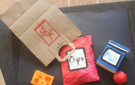 "Ramirez ""Bag Art"" Around the School"