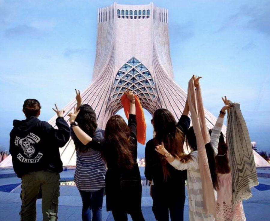 Iranian+Women+Rebelling+Against+Hijab