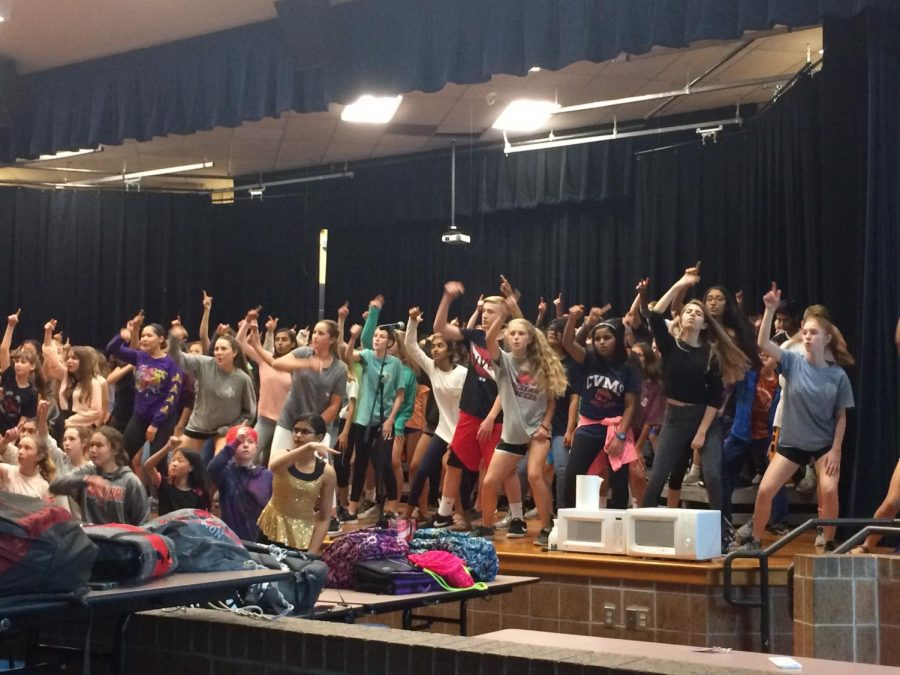 Spring Show Rehearsal