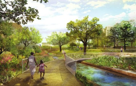 Businessmen Make Plans to Make Part of Downtown Austin More Green