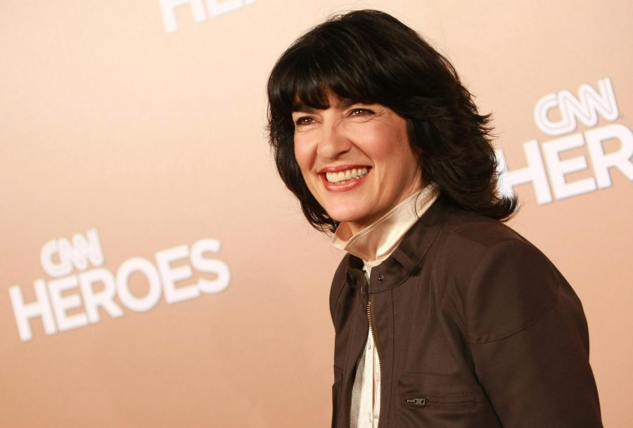 Christiane+Amanpour+Replaces+Charlie+Rose+On+US+Wide+News+Stations