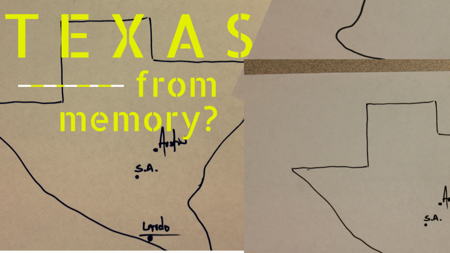 Can Students Draw The Texas Outline From Memory?
