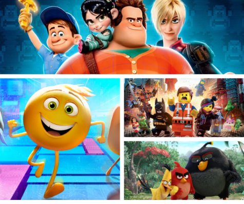 The Lego Movie, Wreck it Ralph, The Emoji Movie and The Angry Birds Movie Are The Same Thing