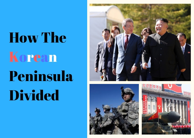 How+The+Korean+Peninsula+Divided