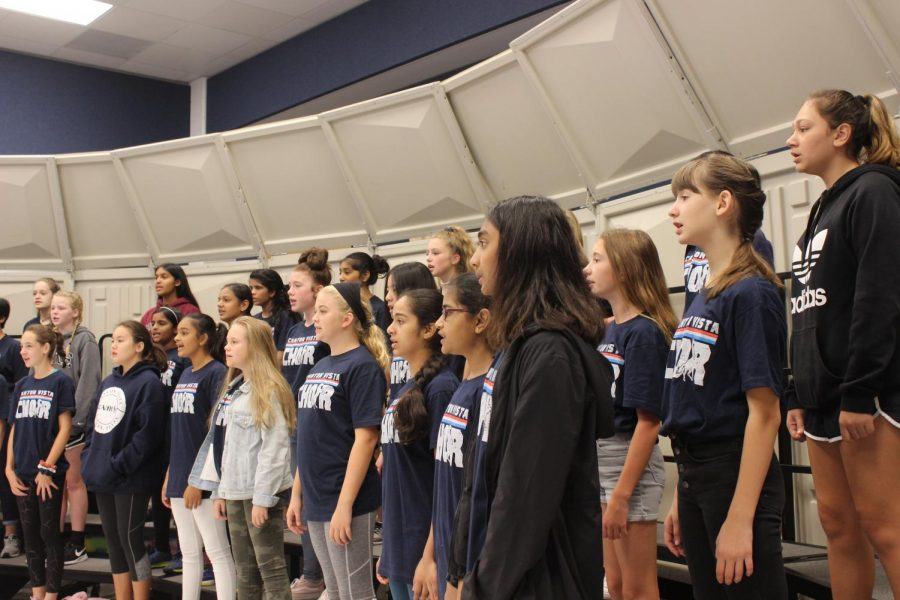 How+Honors+Choir+Prepares+for+the+Fall+Concert