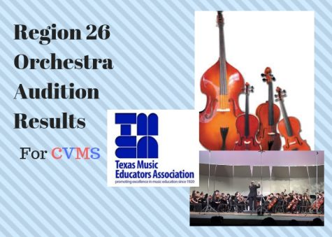 Region 26 Orchestra Audition Results For CVMS