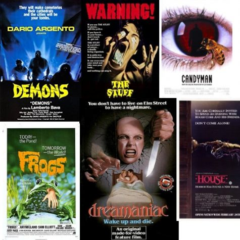 An Overview of Horror Movie Posters