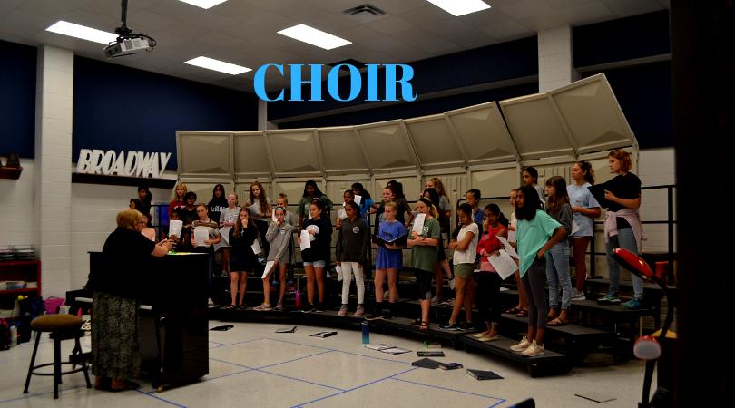 Choir Presents Their Fall Concert