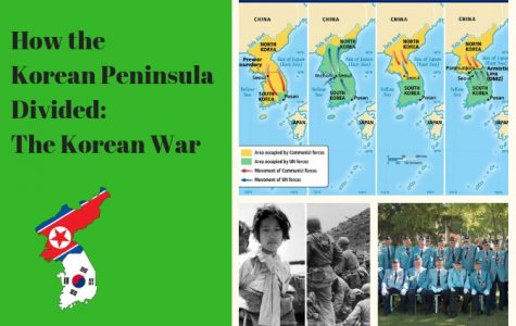 How the Korean Peninsula Divided: The Korean War