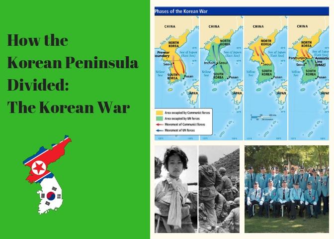 How the Korean Peninsula Divided: The Korean War