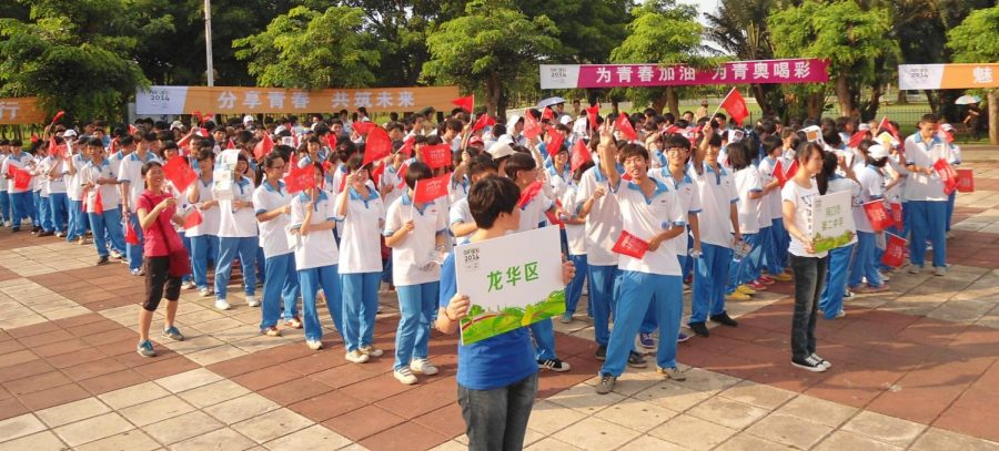Chinese+school%3A+students+on+campaign