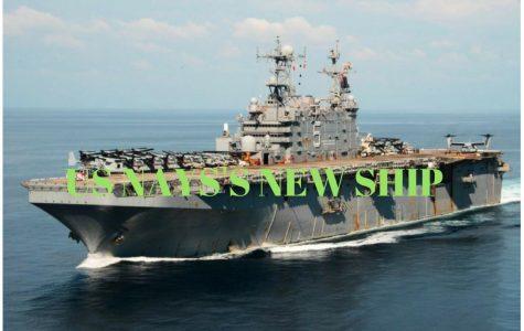 Us Navy Bought 13 billion new aircraft carrier
