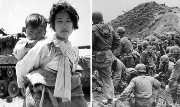 Picture+of+the+Korean+War+refugees+and+injured+soldiers
