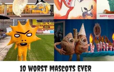 The Ten Worst Mascots Ever