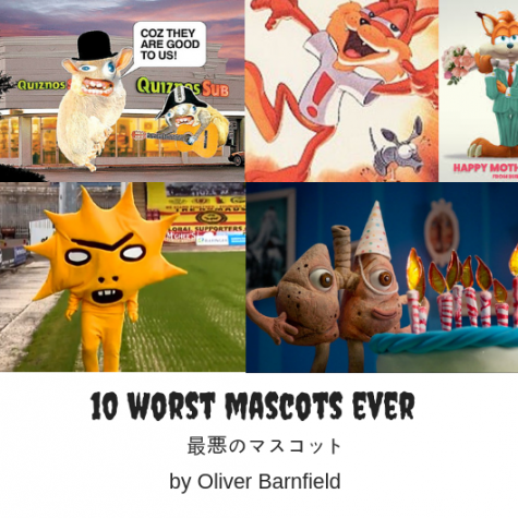 The Ten Worst Mascots Ever