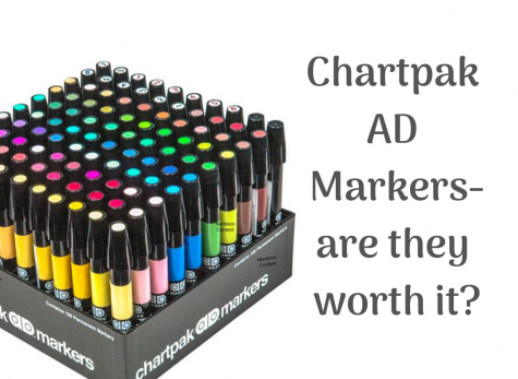 Chartpak AD Markers Review