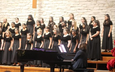 Choir Holiday Concert on Dec. 18