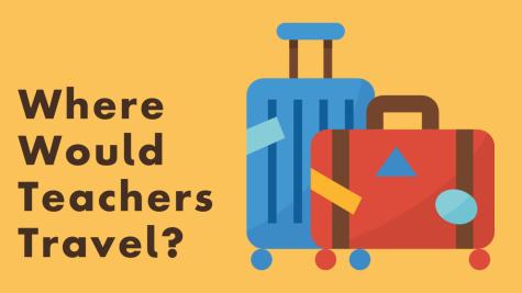Where Would Teachers Like To Travel Over Christmas Break?