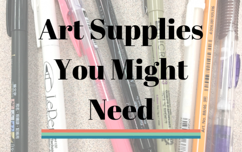 Art Supplies You Might Need