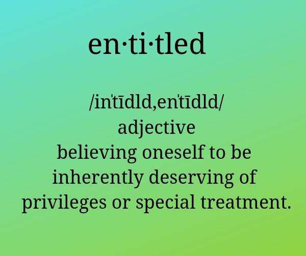 Entitled Parents