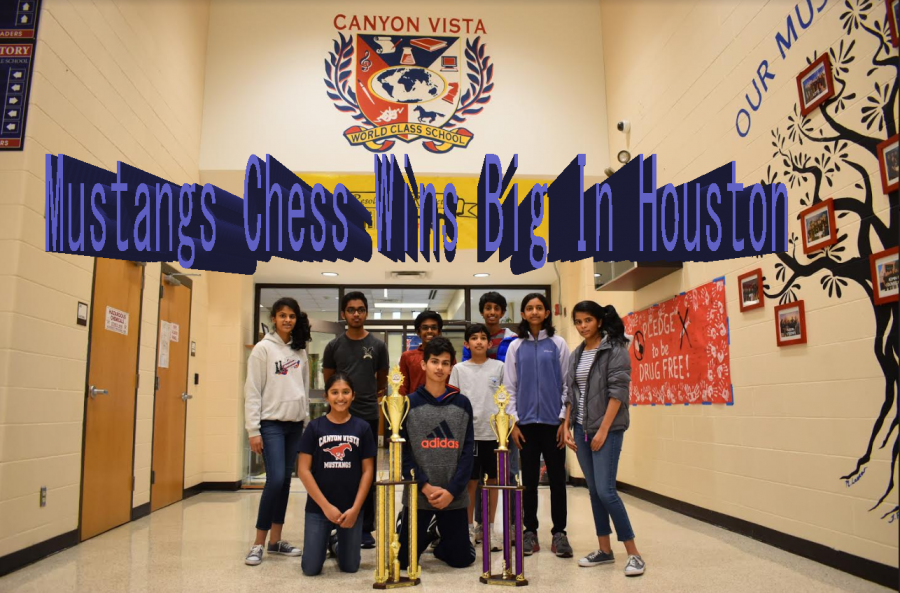Mustangs Win Super State Chess Championship in Houston