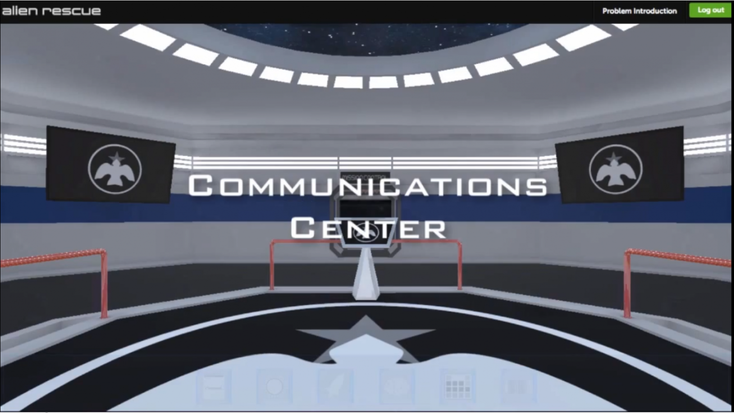 This+is+the+communications+center.+A+place+where+you+communicate+with+the+aliens+on+how+and+where+they+are+going+to+live.+This+is+where+you+first+get+your+mission+and+where+this+whole+game+begins.