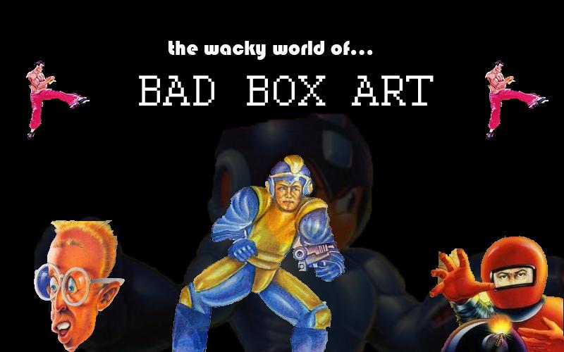 Worst Videogame Box Art