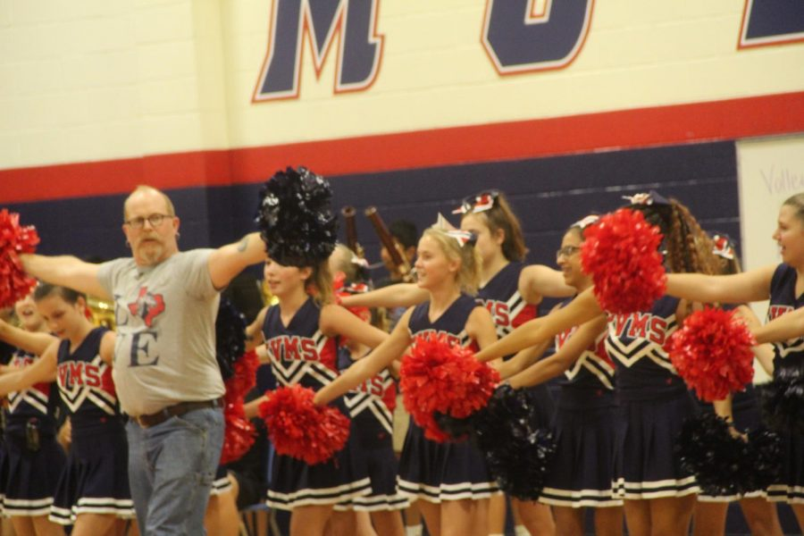 Mr.+Parks+joining+the+cheerleaders+