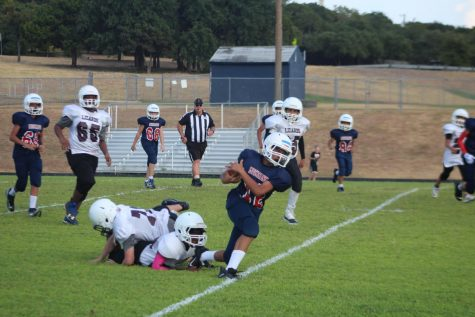 Mustangs Defeat CD Fulkes in Seventh Grade Football