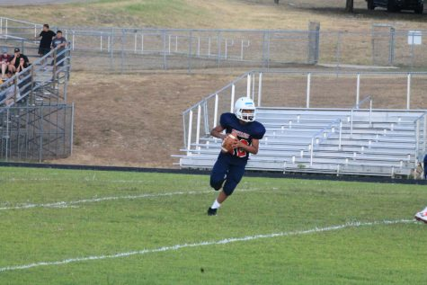 Eighth Grade Football Crushes Grisham Grizzlies 35-8