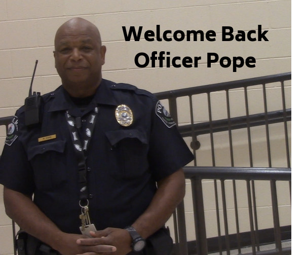 Officer Pope is Back!!