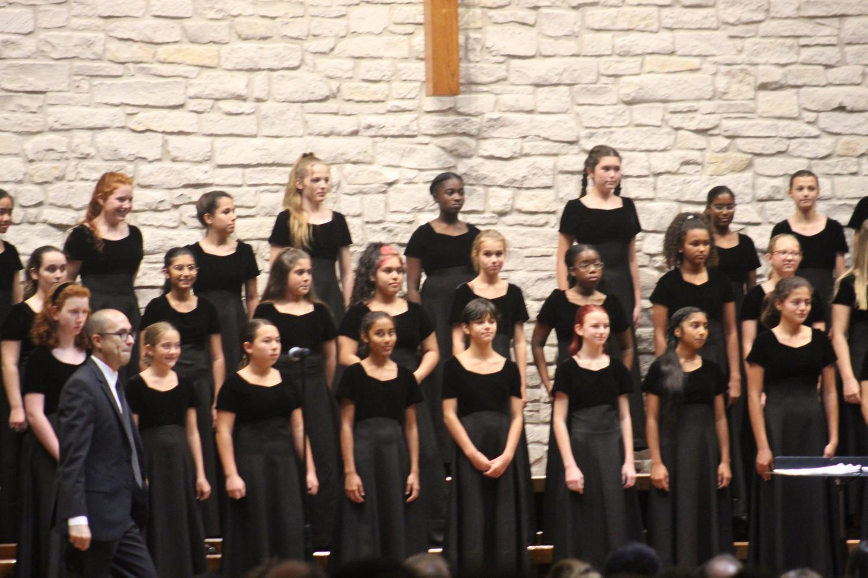Girls treble choir
