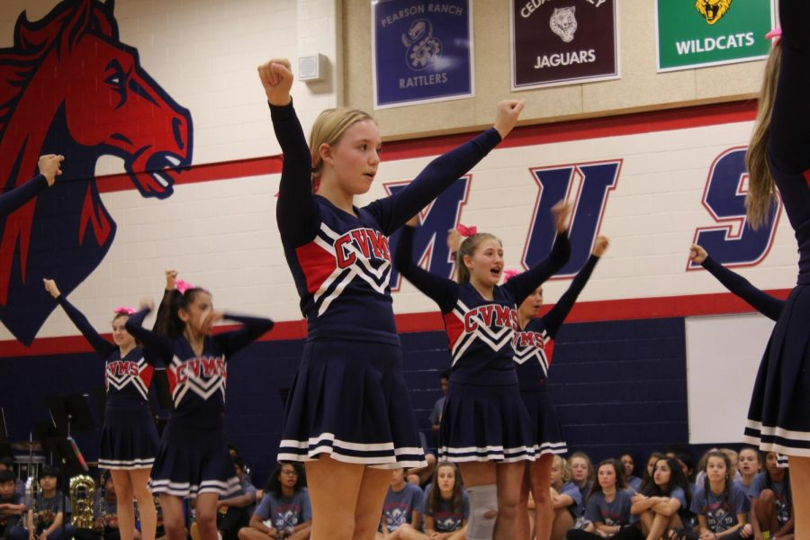 Students Attend Second Pep Rally of the Year