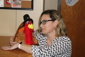 CVMS Teachers Get in the Thanksgiving Spirit