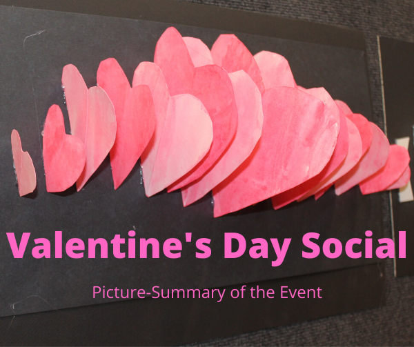 Love is in the Air! – The Valentines Day Social