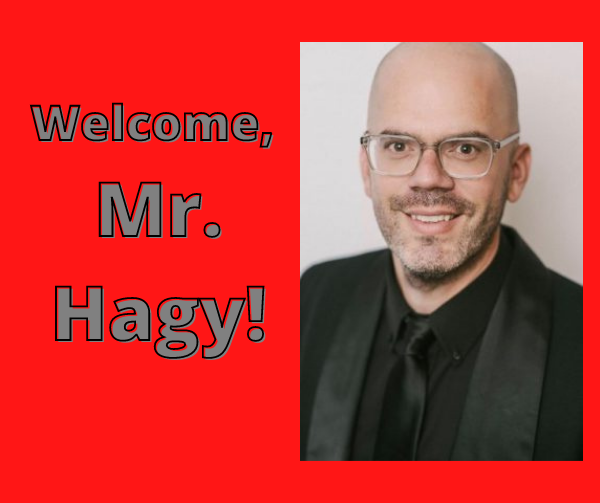 An Interview with Mr. Hagy, our New Band Teacher