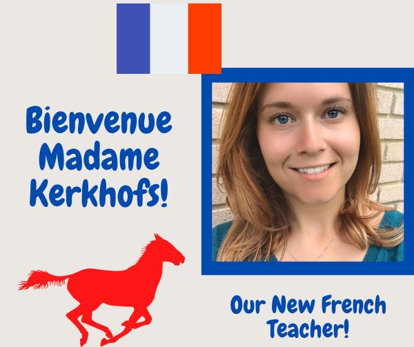 Bienvenue Madame Kerkhofs!