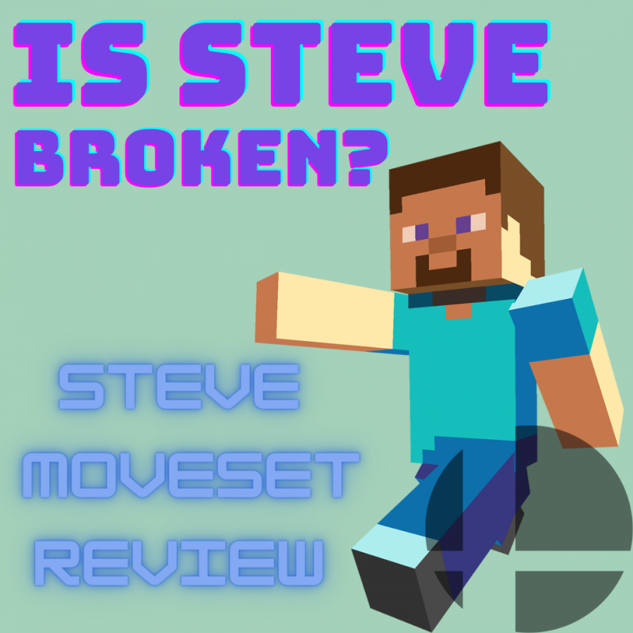 Review: Steve in Smash Brothers