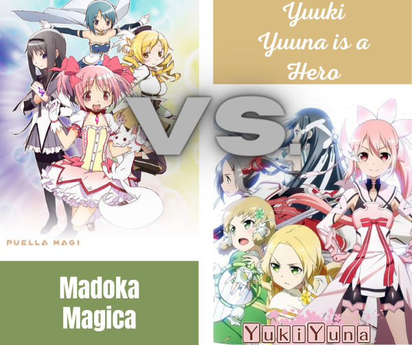 Madoka Magica vs. Yuuki Yuuna is a Hero: Which One is Better?