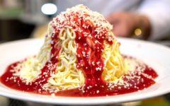 Spaghetti Ice Cream - A Bite of Heaven
